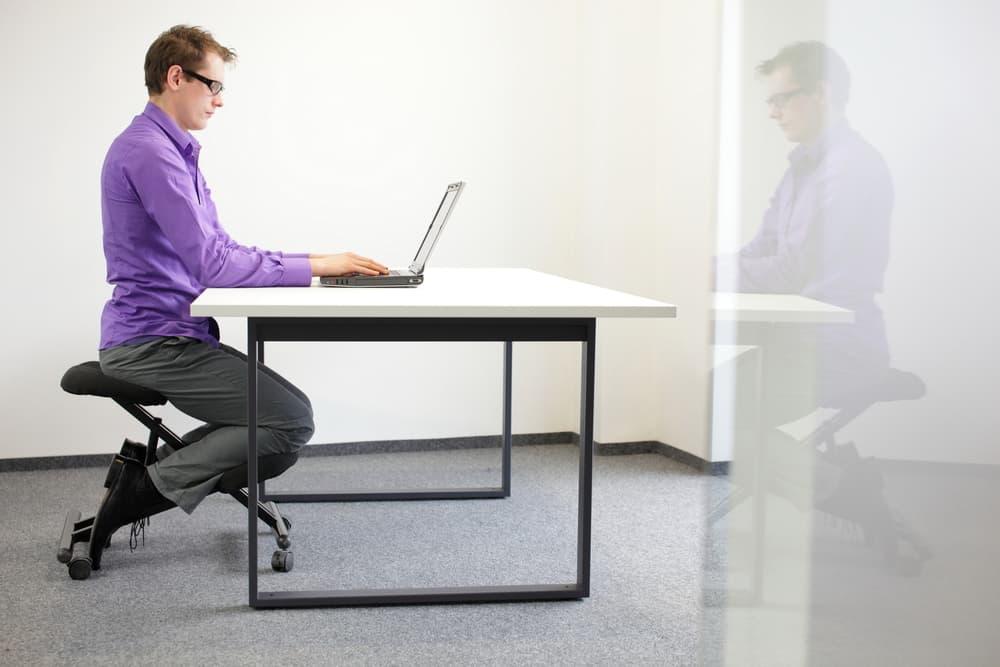 siège assis genoux